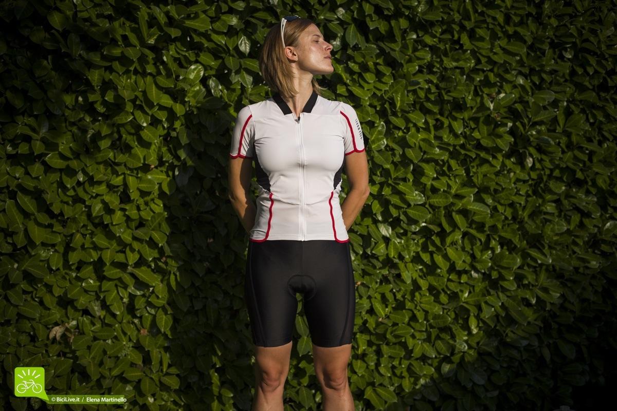 L'abbigliamento bici donna RH+ REVO è morbidissimo e leggero