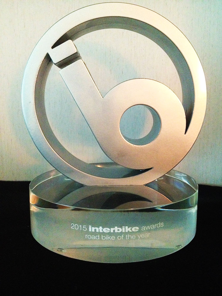 Il premio di Interbike asseganto alla Cannondale SuperSix EVO