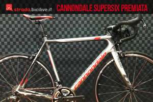 La cannondale supersix evo premiata ad interbike 2015