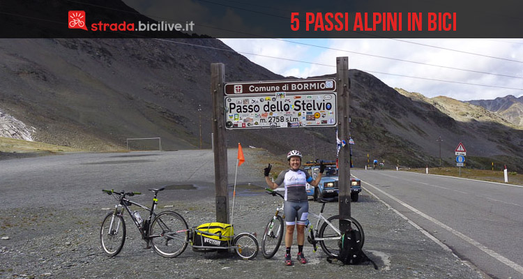 Cicloturismo cinque passi alpini in bici - Cinelli piumini letto prezzi ...