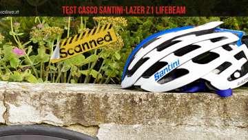 Casco-Lazer-Santini-z1-lifebeam-test-strada