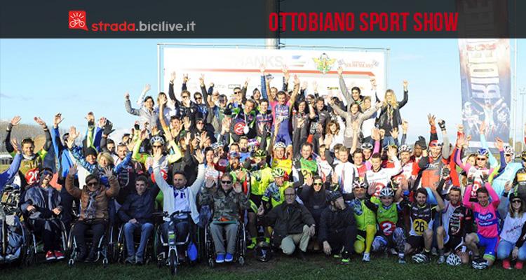 foto di gruppo all'Ottobiano Sport Show