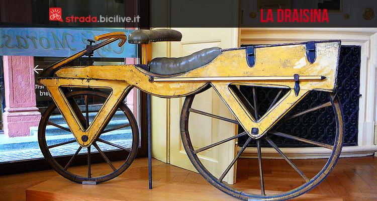 Invenzione Bici La Draisina Del 1817