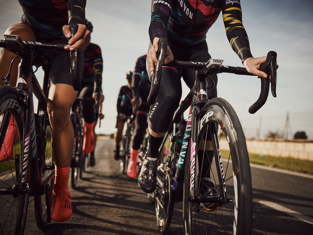 Il Canyon SRAM Rapha Racing Team è la conferma che il ciclismo femminile eè giunto a una svolta.