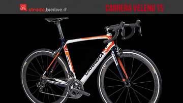Foto della nuova bici Carrera Veleno TS 2016 da granfondo