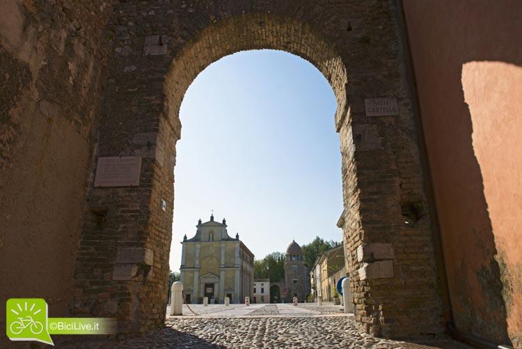 Il centro storico di Cavriana