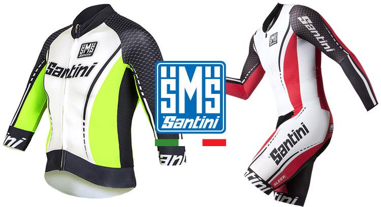 Abbigliamento personalizzato per ciclisti firmato Santini Maglificio Sportivo