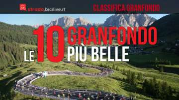 classifica top 10 granfondo di ciclismo più belle e dure