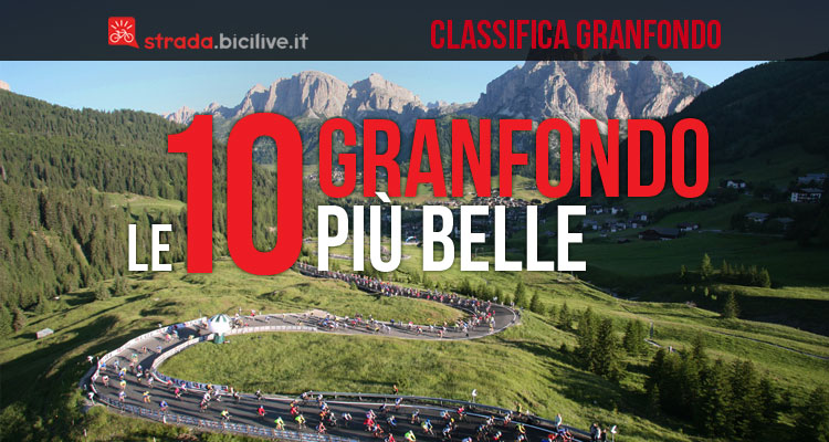 classifica top 10 granfondo di ciclismo più belle e dure