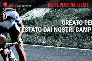 Santini produce divise personalizzate per team di ciclisti
