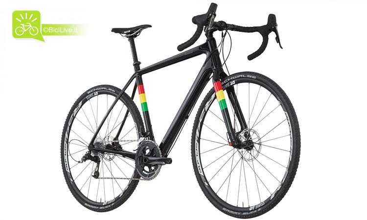 Una bicicletta gravel salsa warbird