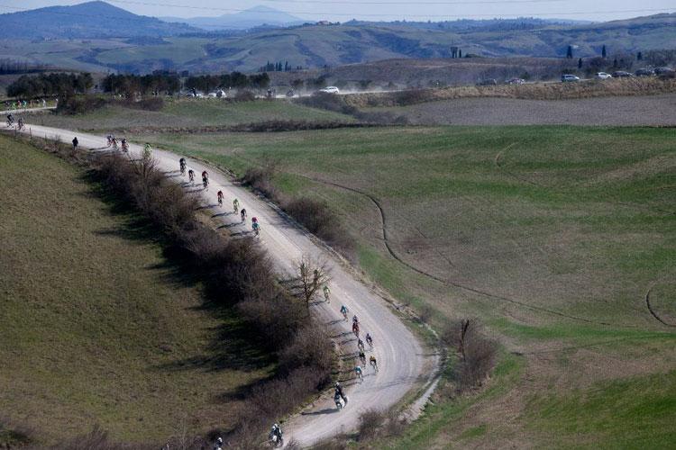 Granfondo Strade Bianche a Siena