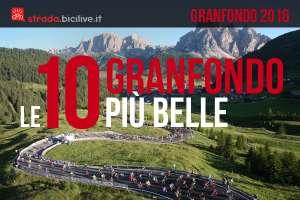 Le 10 granfondo di ciclismo più belle