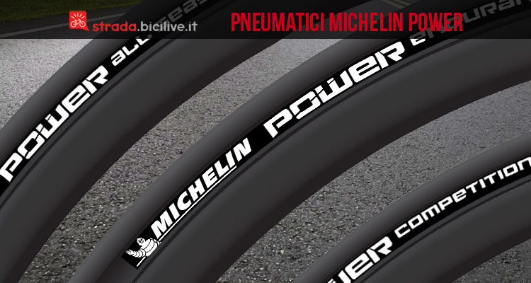 pneumatici per bici da strada Michelin Power