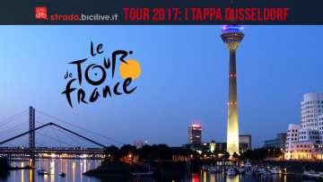 Il Tour de France 2017 partira da Dusseldorf
