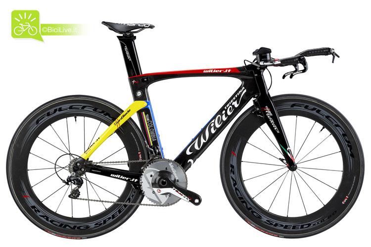 foto della bici da cronometro Wilier Triestina Twin Blade