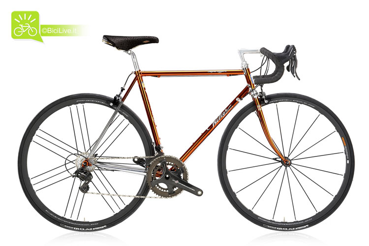foto della bici da strada Wilier Triestina Superleggera