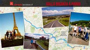 Viaggio in bicicletta dalla Brianza a Parigi