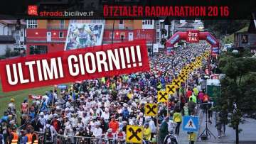 Ultimi giorni per l'iscrizione alla granfondo di ciclismo oetztaler radmarathon
