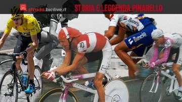 Pinarello tra storia e leggenda del ciclismo