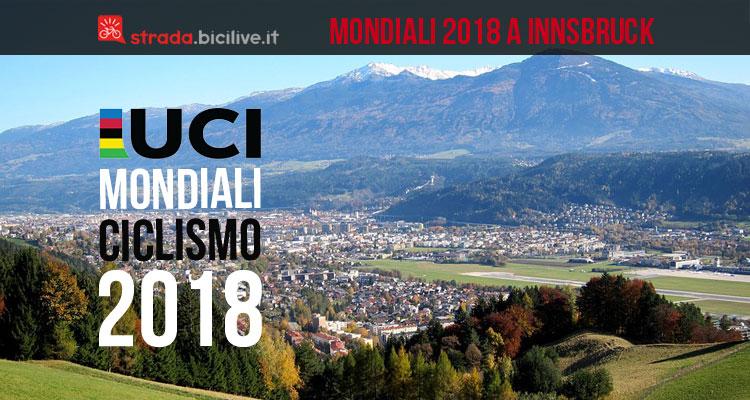 Mondiali ciclismo 2018 Innsbruck