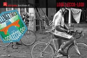 Foto di due corridori della Lodii Lecco Lodi