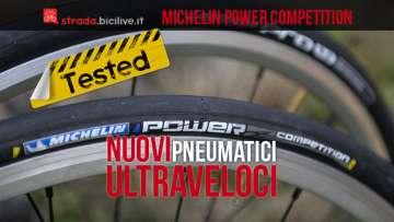 foto degli pneumatici per bici da strada Michelin Power Compétition