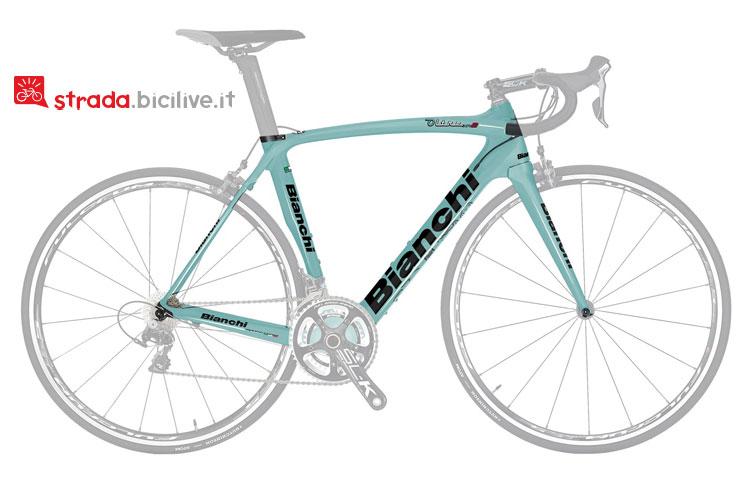bici da strada bianchi oltre xr 2 con gruppo Campagnolo-Chorus-11v-Compact
