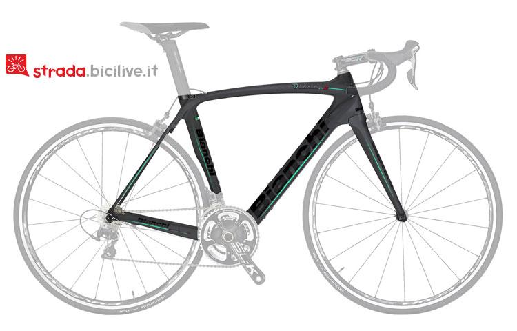 bici da strada bianchi oltre xr 2 con gruppo Shimano-Ultegra-Di2-11v-Compact