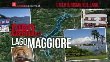 Il giro in bicicletta del Lago Maggiore tra Italia e Svizzera è ideale come primo viaggio cicloturistico
