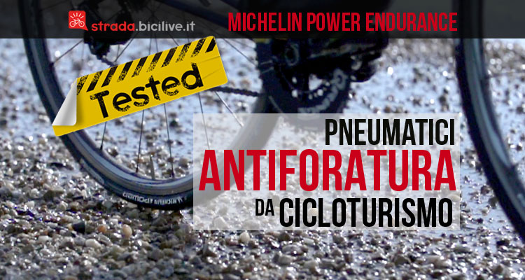gomme antiforatura Michelin Power Endurance