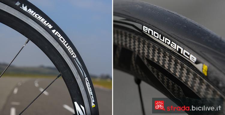 Il copertone da ciclismo Michelin Power Endurance ideale per il cicloturismo