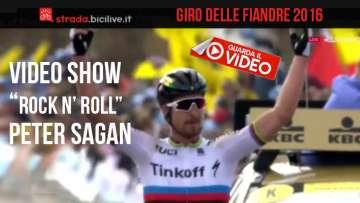 Foto di copertina del video di Peter Sagan al Giro delle Fiandre 2016.