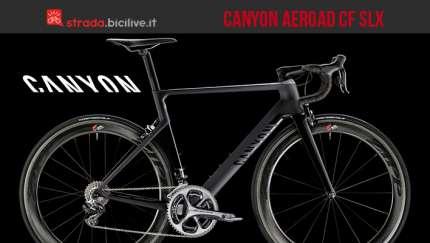 Bici da corsa Canyon Aeroad CF SLX 2016