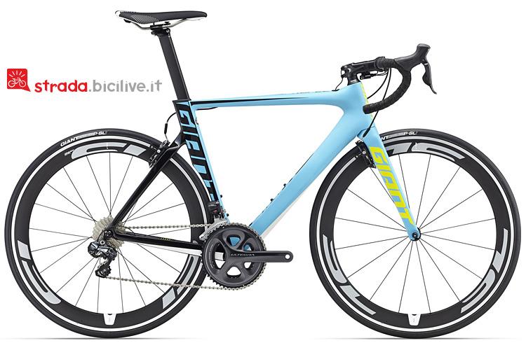 bicicletta da corsa Giant Propel Advanced Comp 0