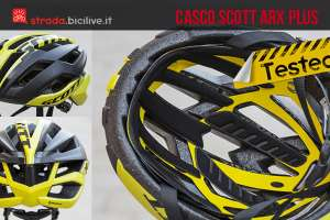 casco ciclismo strada scott arx plus