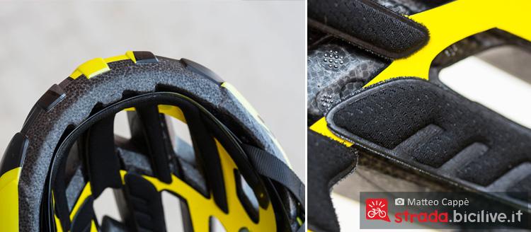 interno del casco da bicicletta Scott Arx Plus