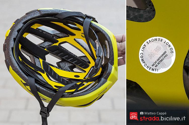 il sistema MIPS del casco Scott Arx Plus