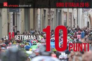 commento alla prima settimana del Giro d'Italia 2016