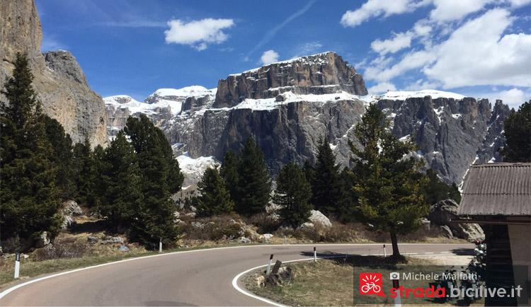 la tappa del Giro d'italia 2016 tra il Sella