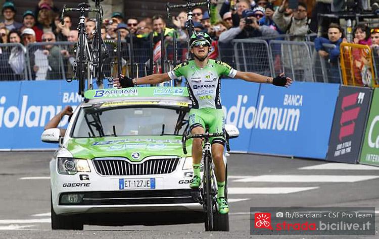 vittoria al Giro d'Italia di Giulio Ciccone