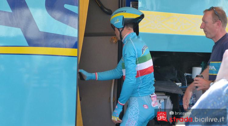 Nibali al GIro 2016