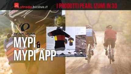 MyPI e MyPI app di Pearl Izumi con tutto il catalogo 3d