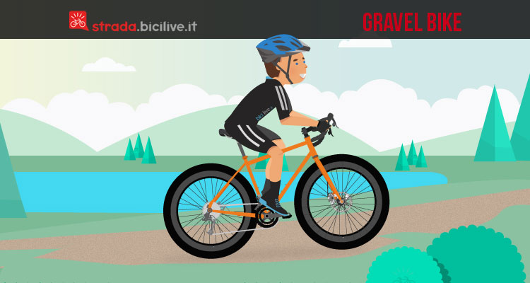 come è fatta una gravel bike