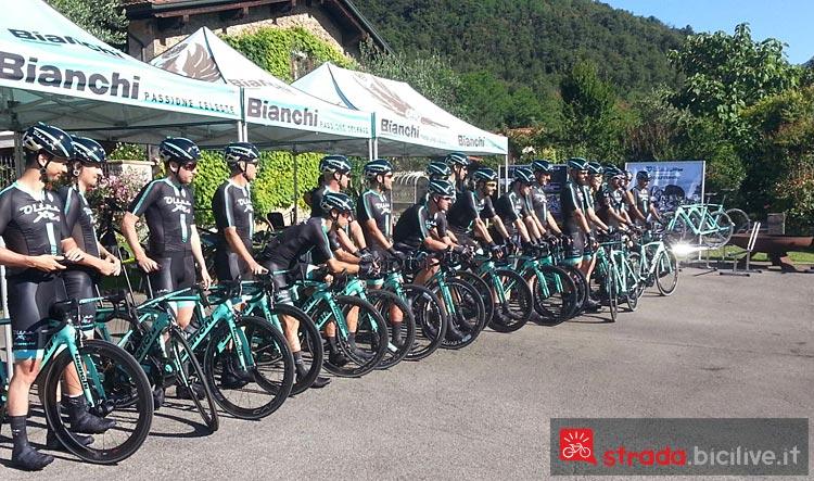 test della bici da corsa Bianchi XR.4 CV Carbon