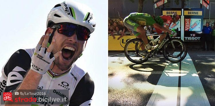 sagan e cavendish vittoriosi al Tour de France 2017