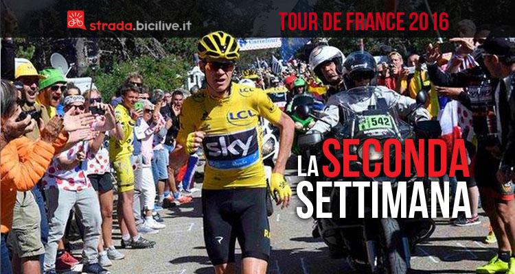 froome è uno dei protagonisti del commento alla seconda settimana del Tour de France 2016