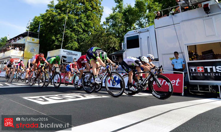 volata di Cavendish al Tour de France 2016