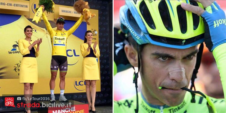 Sagan e Contador al Tour de France 2016