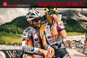 granfondo di ciclismo Maratona dles Dolomites